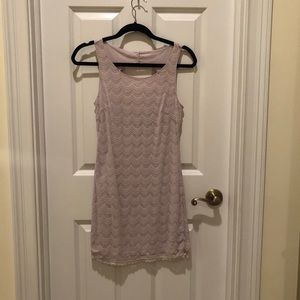 Free People Dress in Lilac size medium